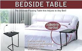 Portable Vanity Table Wheeled Bedside Table Multi Purpose Portable Bedside Table Bedroom