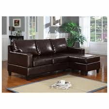 furniture green microfiber reversible sectional sofa with chaise