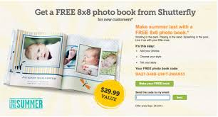 8x8 photo book shutterfly free 8x8 photo book new customers only money