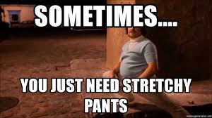 Stretchy Pants Meme - sometimes you just need stretchy pants stretchy pants meme