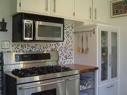 kitchen design 20 photos white mosaic tile kitchen backsplash