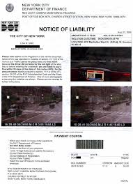 traffic light camera ticket resident stuck with bogus new york red light camera ticket