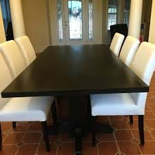 espresso dining table with leaf espresso dining table home design