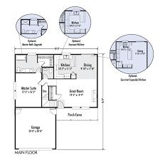 custom floor plans for homes the gallatin custom floor plan adair homes architectural
