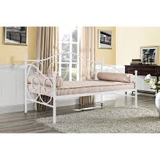 Twin Size Day Bed by Dhp Victoria Metal Daybed Hayneedle