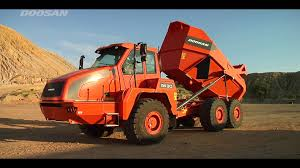 doosan articulated dump truck adt training u0026 safety youtube