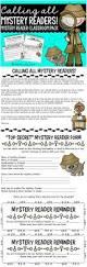 mystery reader letter form u0026 thank you letter form