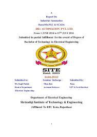 plc scada report paras singhal