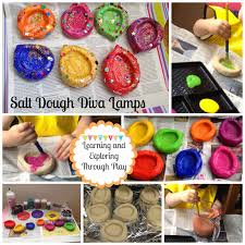 learning and exploring through play salt dough diva lamps gotta