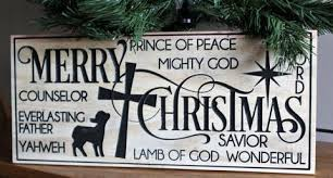 merry christmas sign engraved sign religious gifts wood sign christmas signs