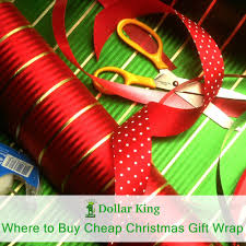 cheap gift wrap where to buy cheap christmas gift wrap dollar king