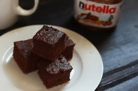 simple 3 ingredient nutella fudge cake recipe fas kitchen