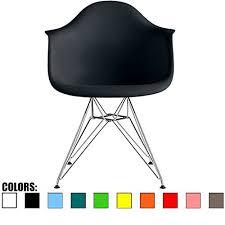 Molded Plastic Armchair 2xhome Single Plastic Armchair With Eiffel Legs Dinning Chair