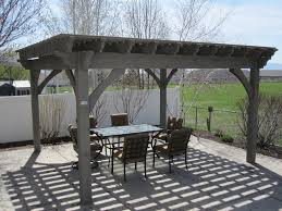 Outdoor Pergola Kits by Before U0026 After 16x16 Oversized Timber Frame Pergola Kit Install