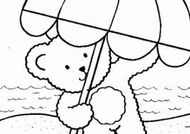 umbrella coloring pages coloring4free