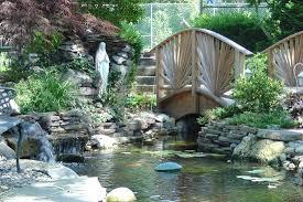 landscape u0026 garden bridges enhance your backyard ponds pond