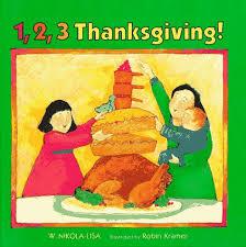 1 2 3 thanksgiving w nikola robin kramer 9780807561102
