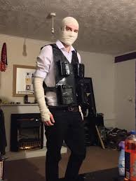 Fallout Halloween Costume Thought Fallout Enjoy Burned Man Costume