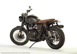 triumph motocross bike david beckham s custom built triumph amazon scrambler motorcyclist
