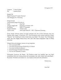 contoh surat lamaran kerja dengan cq surat lamaran kerja untuk operator ben jobs contoh lamaran kerja