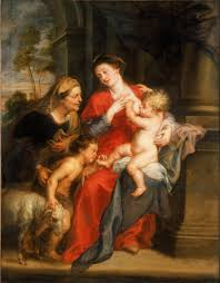 file paul rubens the and child with sts elizabeth
