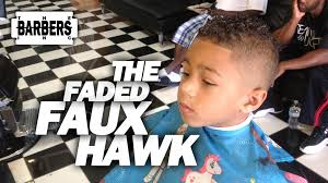 2years old boys easy haircuts for african americans how to kid s faded faux hawk mohawk men s haircut tutorial