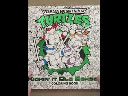 kickin u0027 coloring book teenage mutant ninja turtles