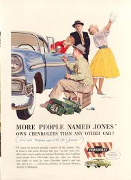 Keeping Up With The Joneses Chevrolet Bel Air Keeping Up With The Joneses Ad 1956