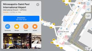 Maps For Apple Releases Indoor Maps For Us Airports U2014 Beam Tech