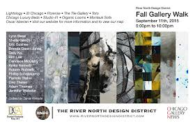 Map River North Chicago by River North Design District U0027s Fall Gallery Walk Oscar Isberian