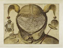 Map Of The World Art by A Collection Of Very Strange Maps Cartography 16th Century And