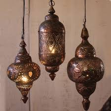 Moroccan Pendant Lights Hanging Metal Moroccan Pendants Mediterranean Pendant Lighting