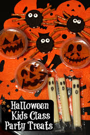for the love of food halloween kids class party treats spooky