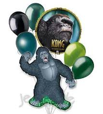 gorilla balloon 7pc king kong planet of the apes balloon bouquet party decoration