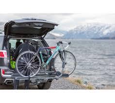 semi 2 0 hitch mount zero frame contact bike rack swagman