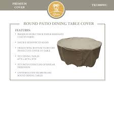 Round Patio Furniture Cover - design extraordinary round table napa with gorgeous unique base