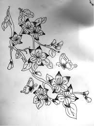 flowers and butterflies design by aaalfie on deviantart