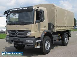mercedes 4x4 trucks mercedes atego 1323 a 4x4 personnel carrier pk trucks