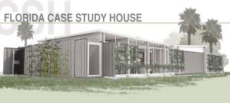 case study houses floor plans gallery of florida case study house competition proposal co tain