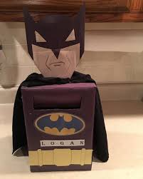 batman valentines diy batman s box