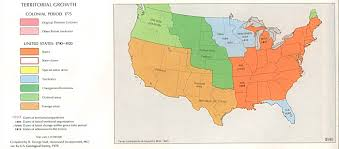 Texas On Map Of Usa by Map Us During 1700s Maps Of Usa