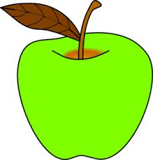 apple cartoon green apple clip art at clker com vector clip art online royalty