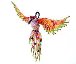 beaded hummingbird ornament slave free christmas pinterest