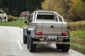 mercedes truck 6x6 2014 mercedes g63 amg 6x6 drive motor trend