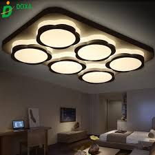 Light Fittings For Bedrooms Modern Led Ceiling Lights For Living Room Acrylic Bedroom