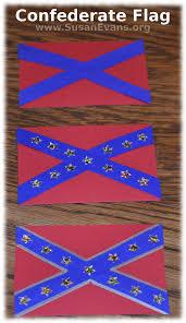 Civil War Union Flag Pictures Make A Confederate Flag Susan U0027s Homeschool Blog Susan U0027s