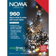 Led Cluster Lights Noma 960 Led White Cluster Light Capital Gardens
