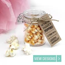 popcorn wedding favors personal and unique wedding favours locomix