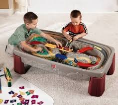 train and track table go kids play parent s top rated best toy trains sets for kids of