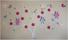 decor tree wall painting bedroom designs for teenage girls how